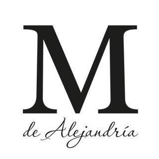 Logo M de Alejandría